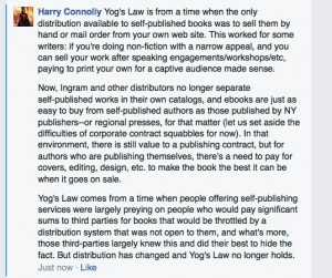 Yog's Law and Distribution
